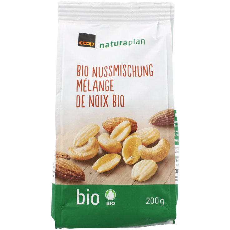 Mixed Nuts - Naturaplan Organic Salted Mixed Nuts