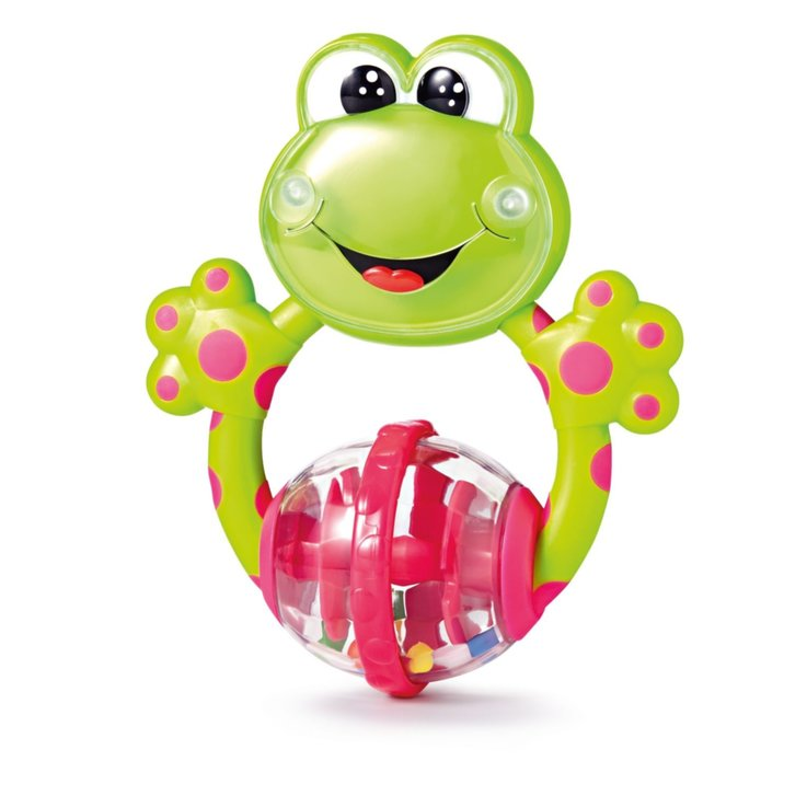 Other Toys - Chicco Frog Rattle