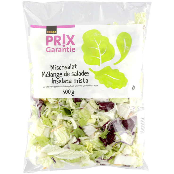 Pre-Packaged Fresh Salads - Prix Garantie Mixed Salad