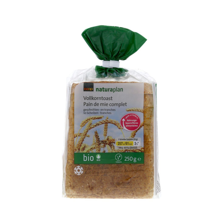 Toasting Bread & Buns - Naturaplan Organic Whole Wheat Sandwich Bread