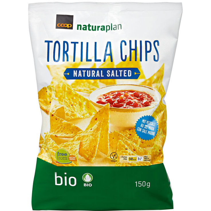 Nachos & Graneos - Naturaplan Bio Tortilla Chips Nature