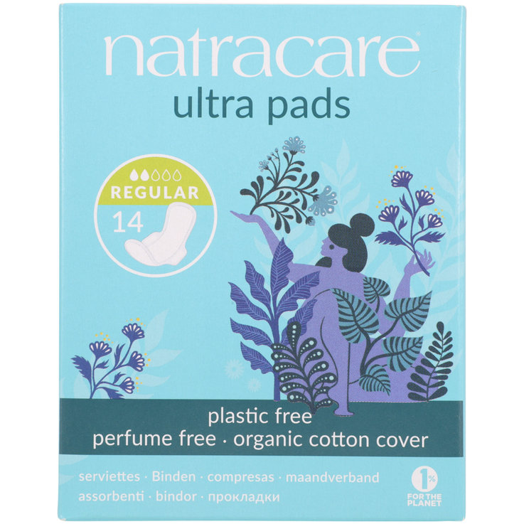 Binden  - Natracare Ultra Regular Sanitary Napkins 14 pieces