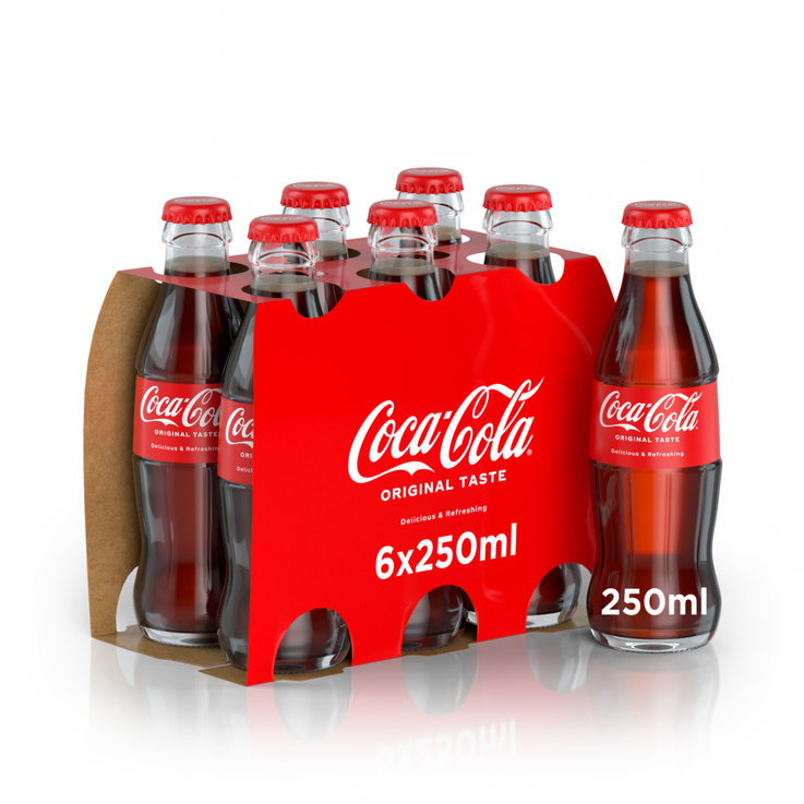 Multipacks under 1 Liter - Coca-Cola Original 6x25cl