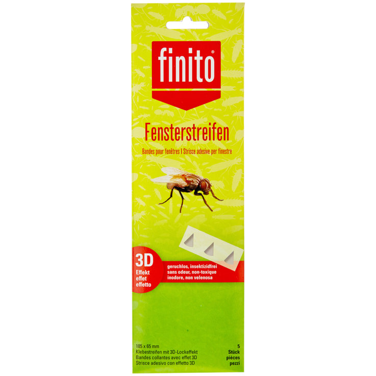 Insect Repellent - Finito 3D-Fensterstreifen
