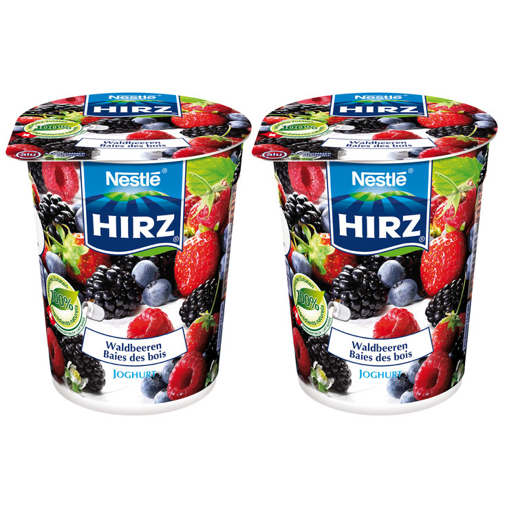 Forest & Garden Berries - Hirz Wildberry Yogurts 2x180g