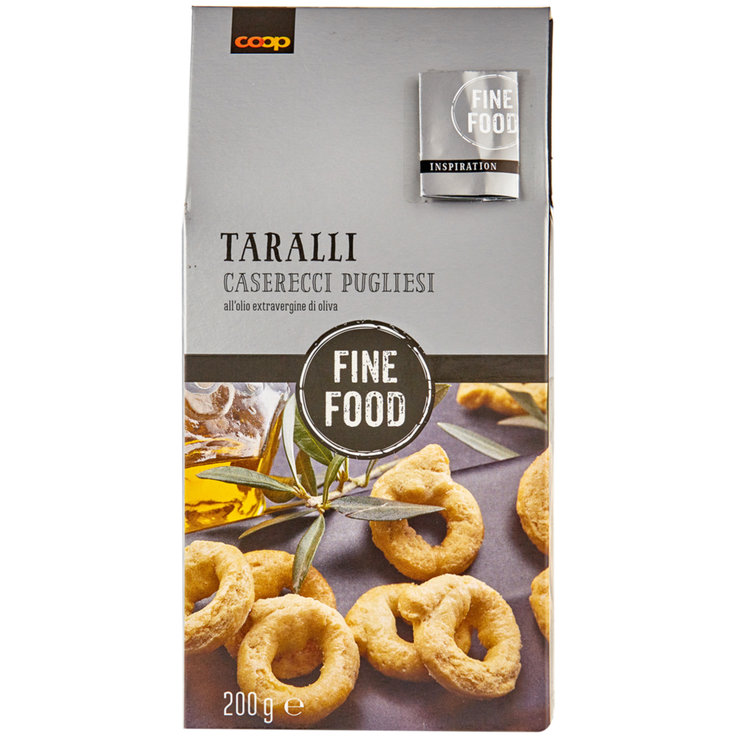 Grissini & Special Pastries - Fine Food Homemade Taralli with Extra Virgin Olive Oil