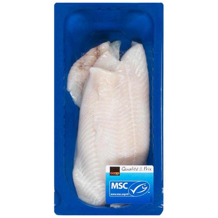 Packaged Fresh Fish - MSC Plaice Fillets ca. 210g