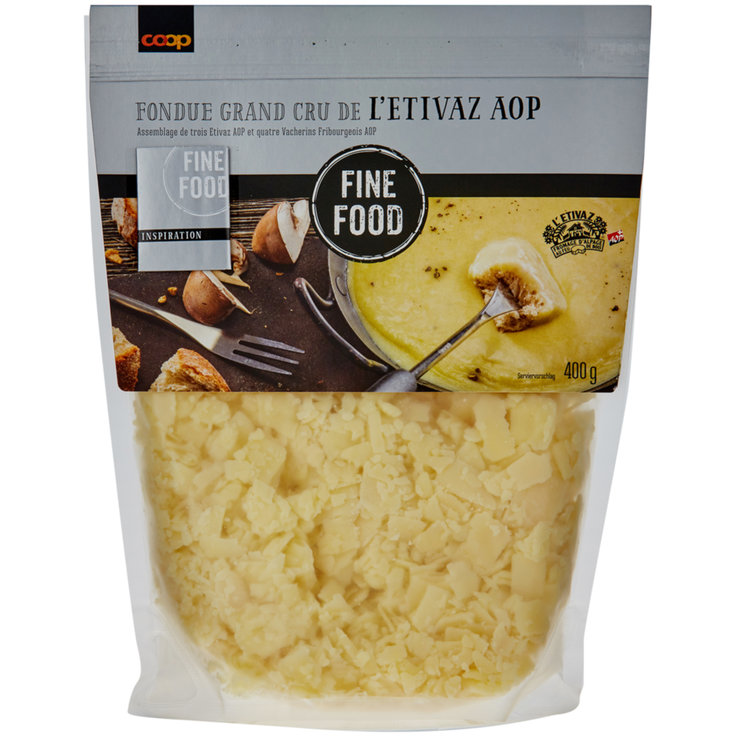 Fondue - Fine Food Fondue Mix with Etivaz Cheese