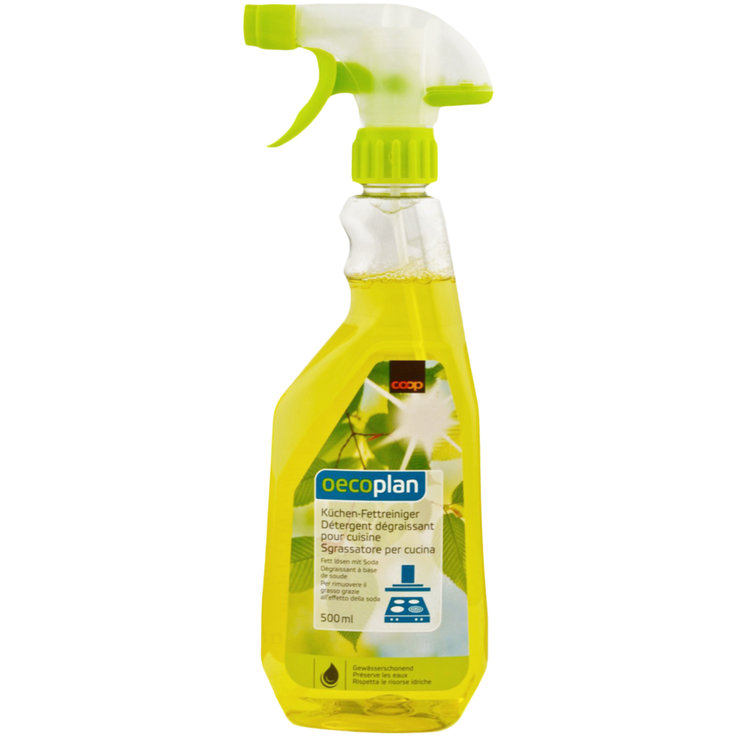 Kitchen Cleaner - Oecoplan Kitchen Grease Spray Cleaner