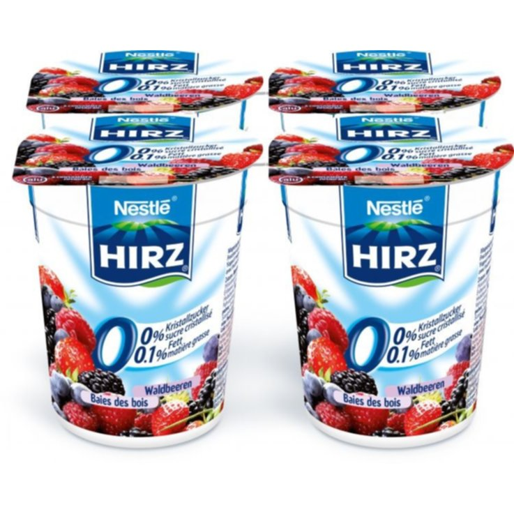 Forest & Garden Berries - Hirz Wildberry Yogurt 0% Fat 4x180g
