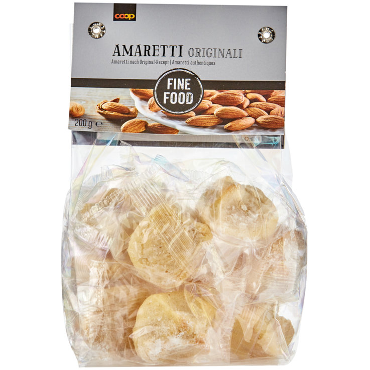 Cookies with Nuts - Fine Food Original Amaretti