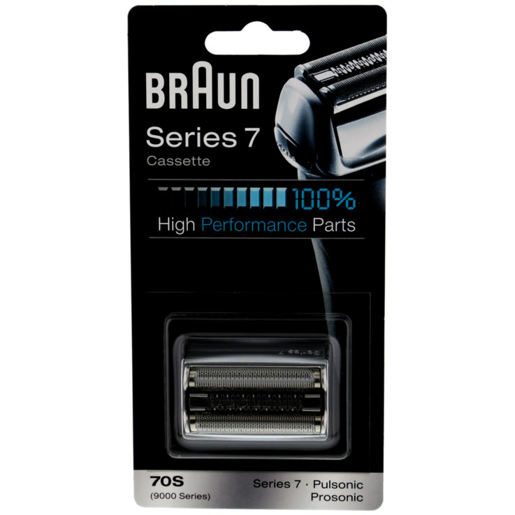 Razor Blades - Braun 70S Replacement Shaver Head Silver Combi-Pack