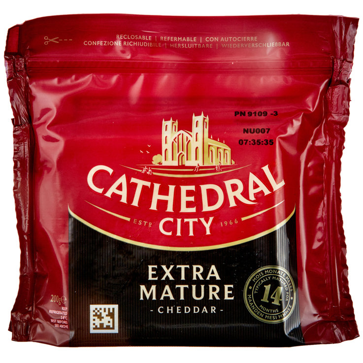 Weitere Käsesorten - Cathedral City Extra Mature Cheddar