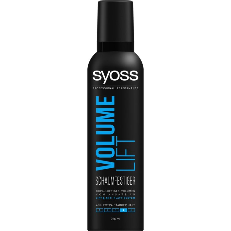 Mousse - Syoss Extra Strong Hold Volume Lift Styling Mousse