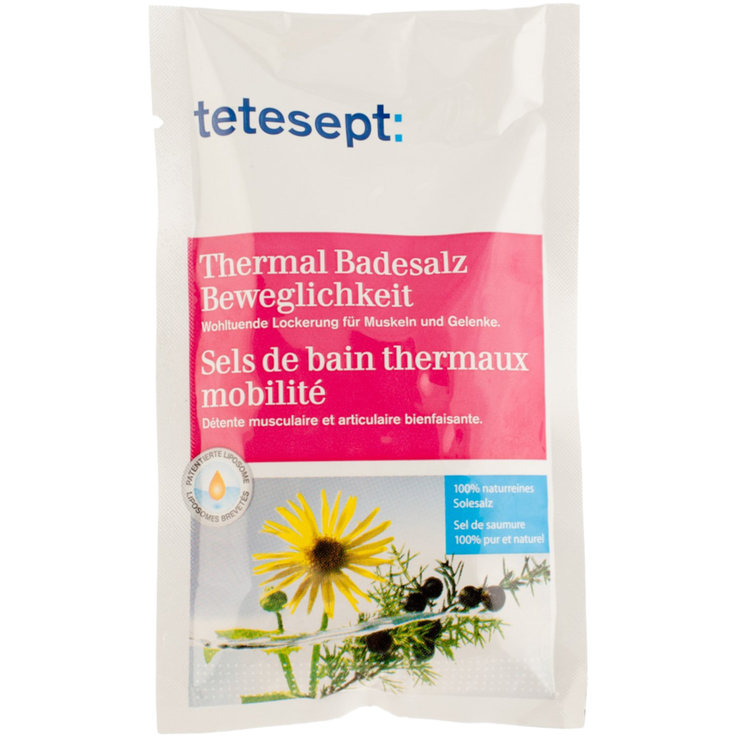 Therapeutic & Bath Salts - Tetesept Mobility Thermal Bath Salt
