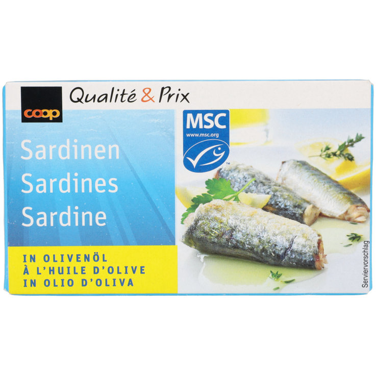 Pickled Fish & Mussels - Sardines in Olive Oil MSC