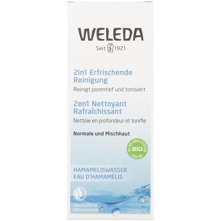 Wash Gel & Exfoliants - Weleda 2in1 Refreshing Cleansing Gel