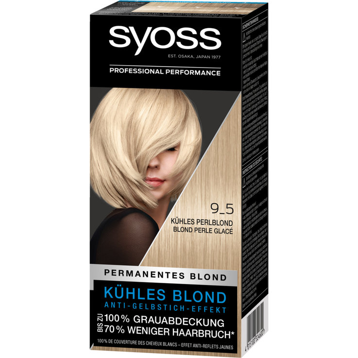 Blondes - Syoss Pearl Blond 9-5 Hair Dye
