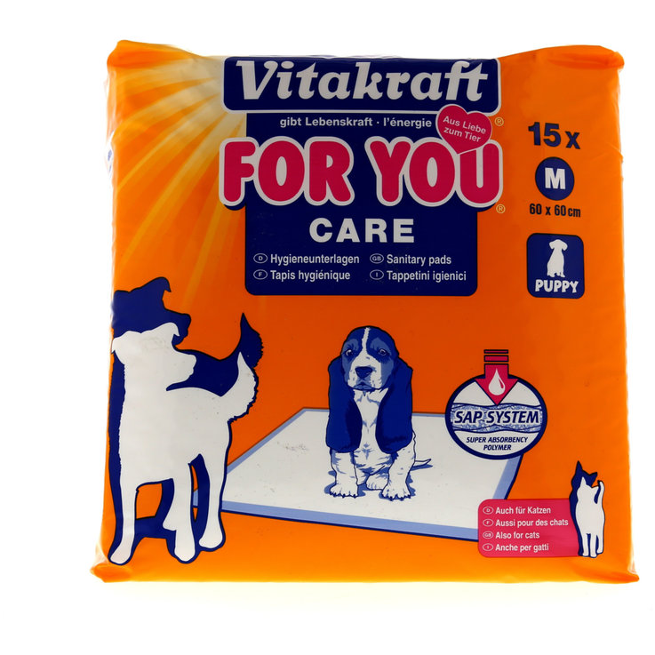 Hygiene and Care - Vitakraft Hygiene Sheets Pack of 15