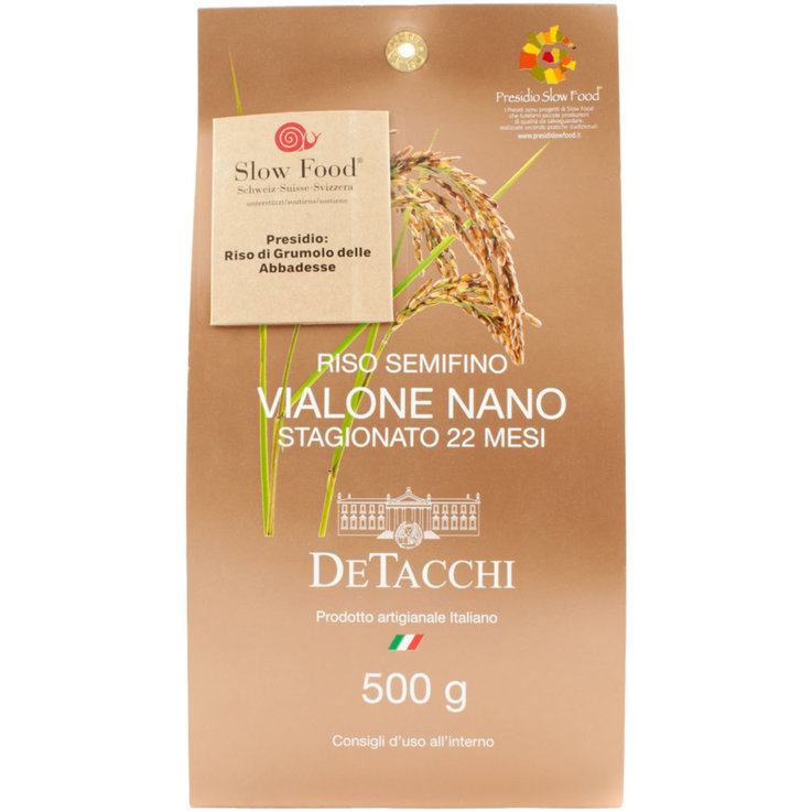 Risotto & Vialone - Slow Food Vialone Nano Semi-Fine Rice