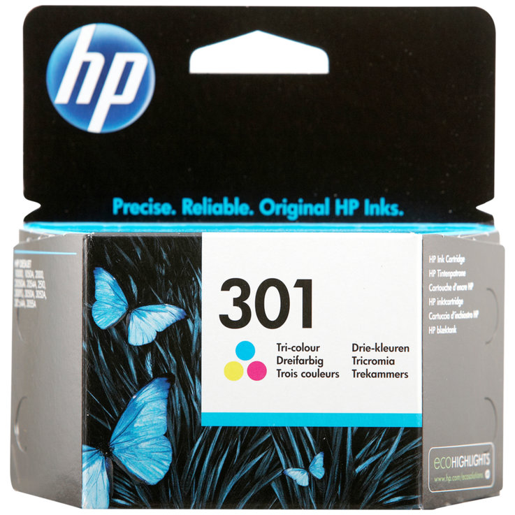 HP - HP 301 Colour Ink Cartridge