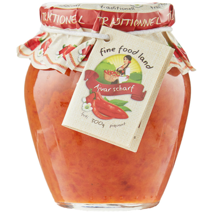 Chutney & Special Sauces - Traditional Spicy Ajvar