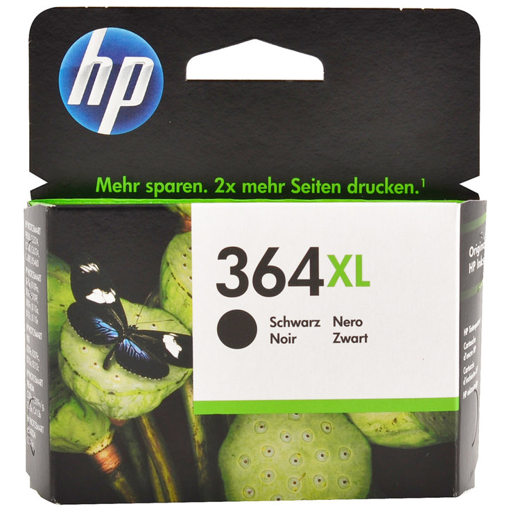 HP - Cartuccia d'inchiostro HP 364XL nero