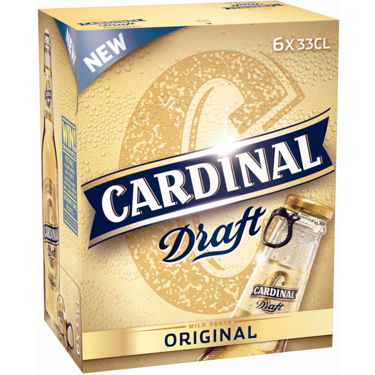 Bottles - Cardinal Original Draft Beer 6x33cl
