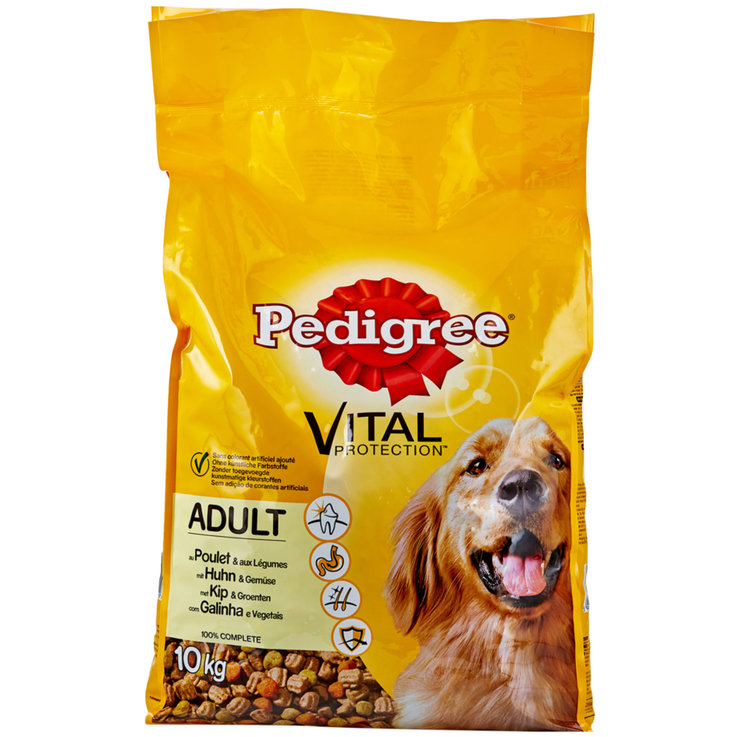 Dry Food - Pedigree Poultry Flavoured Dry Adult Dog Food