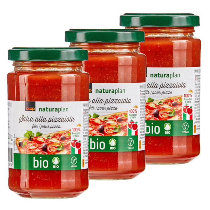 Buy Naturaplan Organic Pizza Tomato Sauce 220g Cheaply Coop Ch