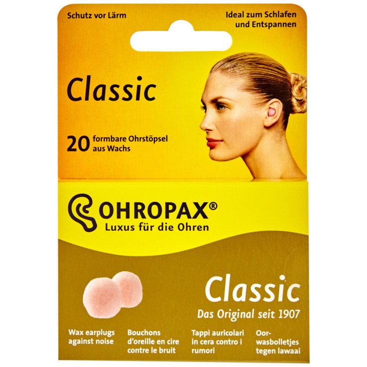 Disinfection & Protection - Ohropax Classic Ear Plugs 20 Pieces