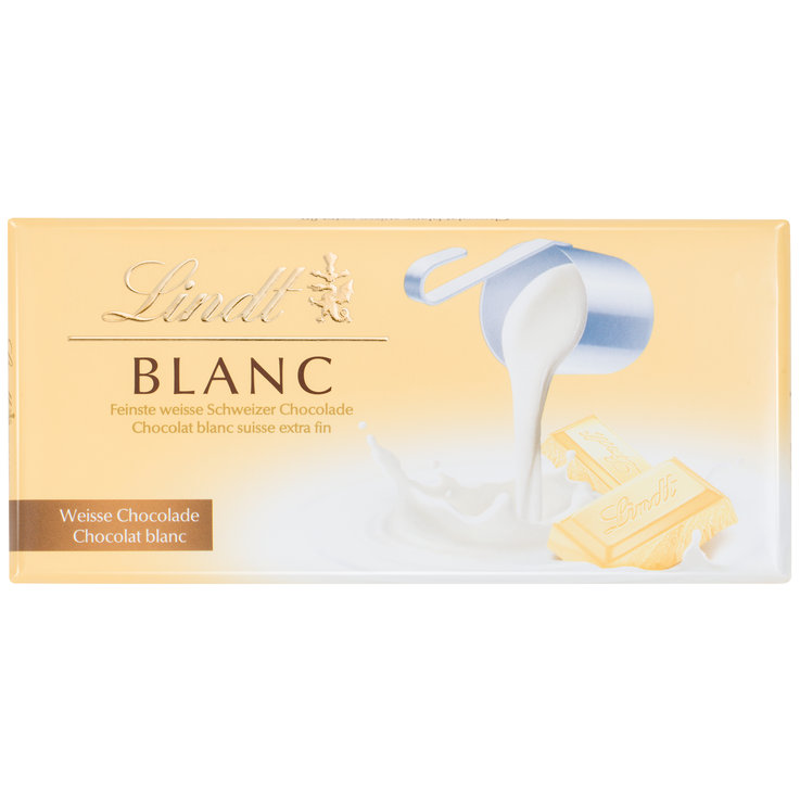 White - Lindt White Chocolate Bar