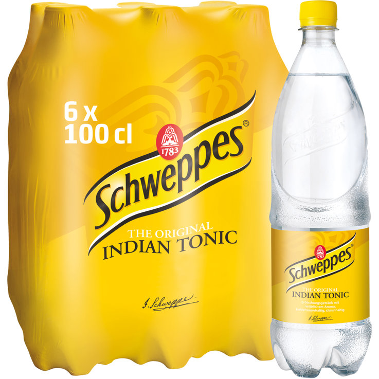 Multipacks ab 1 Liter - Schweppes Indian Tonic 6x100cl