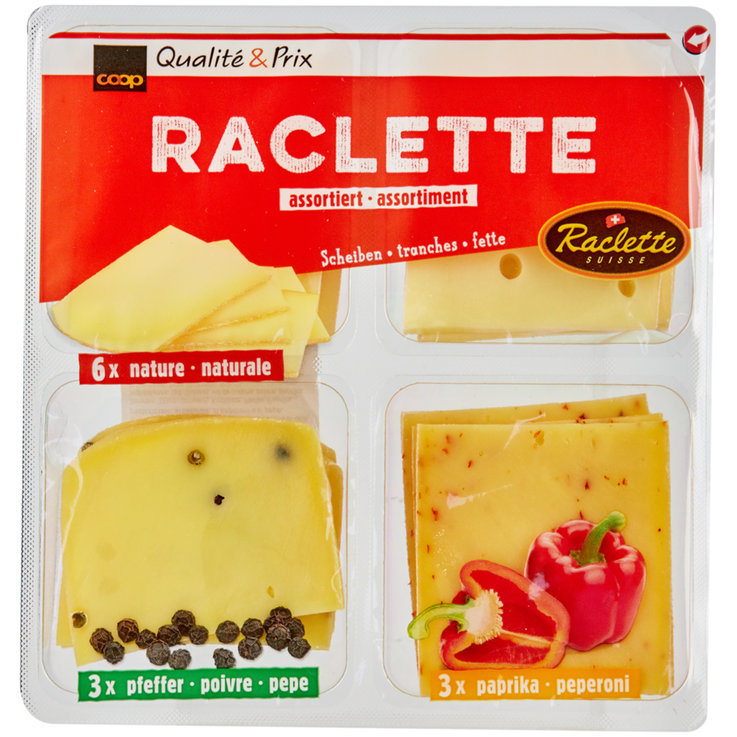 Raclette - Assorted Raclette Cheese XXS