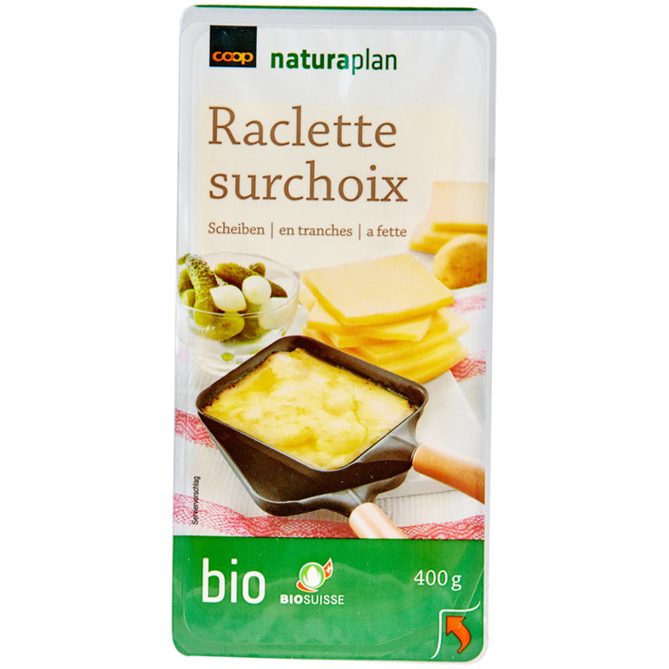 Raclette - Naturaplan Organic Sliced Premium Raclette Cheese