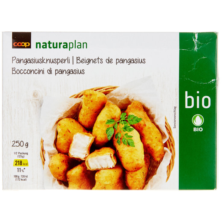 Breaded Fish - Naturaplan Organic Frozen Breaded Pangasius Fillets