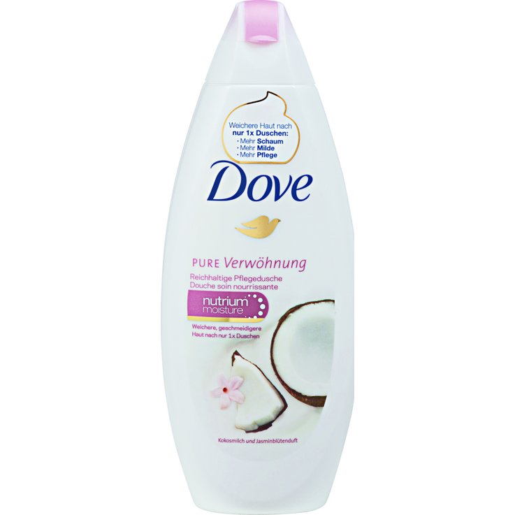 Shower Cream - Dove Nourishing Care Coconut & Jasmin Shower Cream