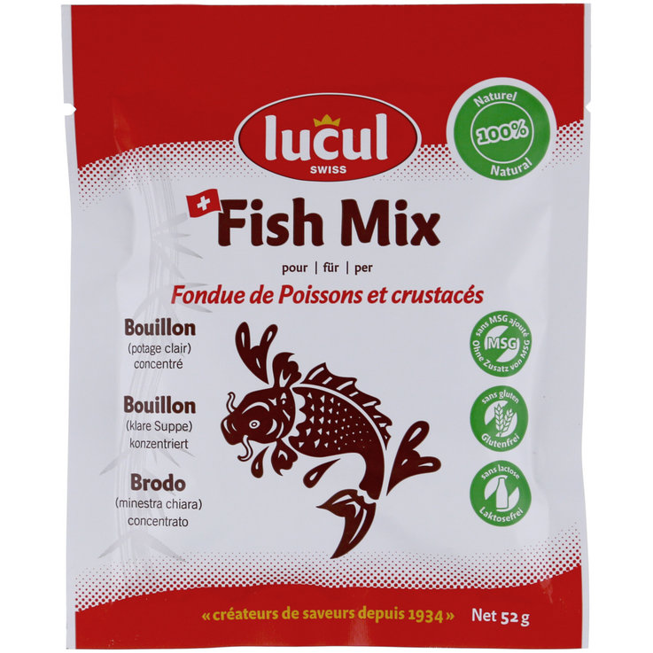 Mix di spezie - Lucul Fish Mix Fondue chinoise