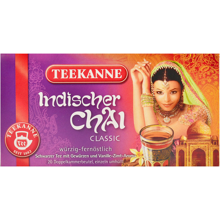 Spiced Tea & Chai & Rooibos - Teekanne Classic Indian Chai Tea 20 Portions