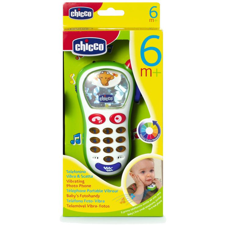 Chicco - Chicco Baby's Photo Mobile Phone 6-36 Months+