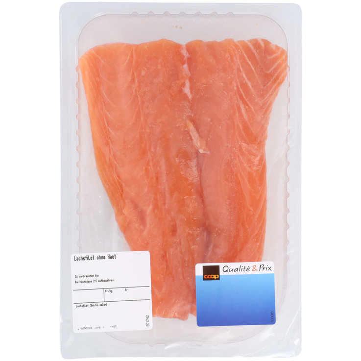 Packaged Fresh Fish - Salmon Fillet 250g