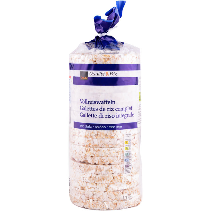 Rice Cakes - Salted Whole Grain Rice Cakes