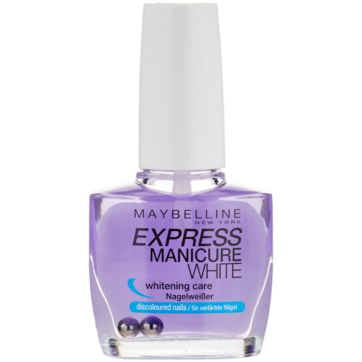 Nails - Maybelline Express Manicure White