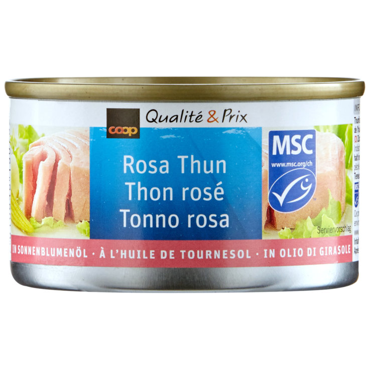 Tuna in Oil - MSC Pink Tuna in Vegetable Oil