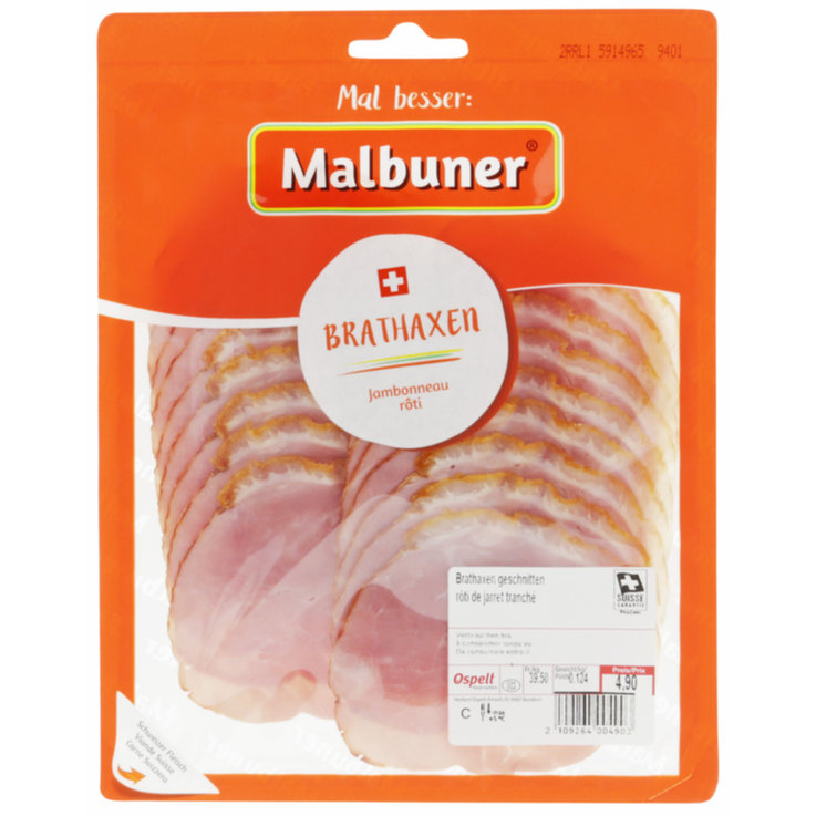 Cold Cuts - Malbuner Roast Pork Shank env. 120g