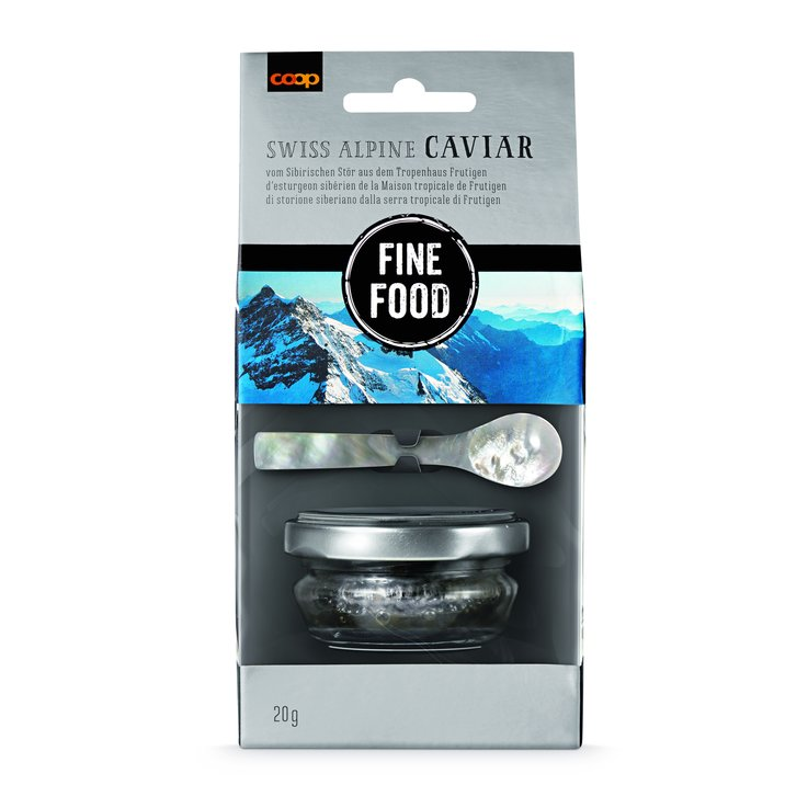 Fish Specialities & Roe - Fine Food Swiss Caviar