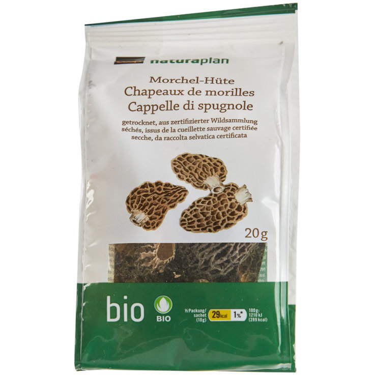 Mushrooms - Naturaplan Organic Dried Morels