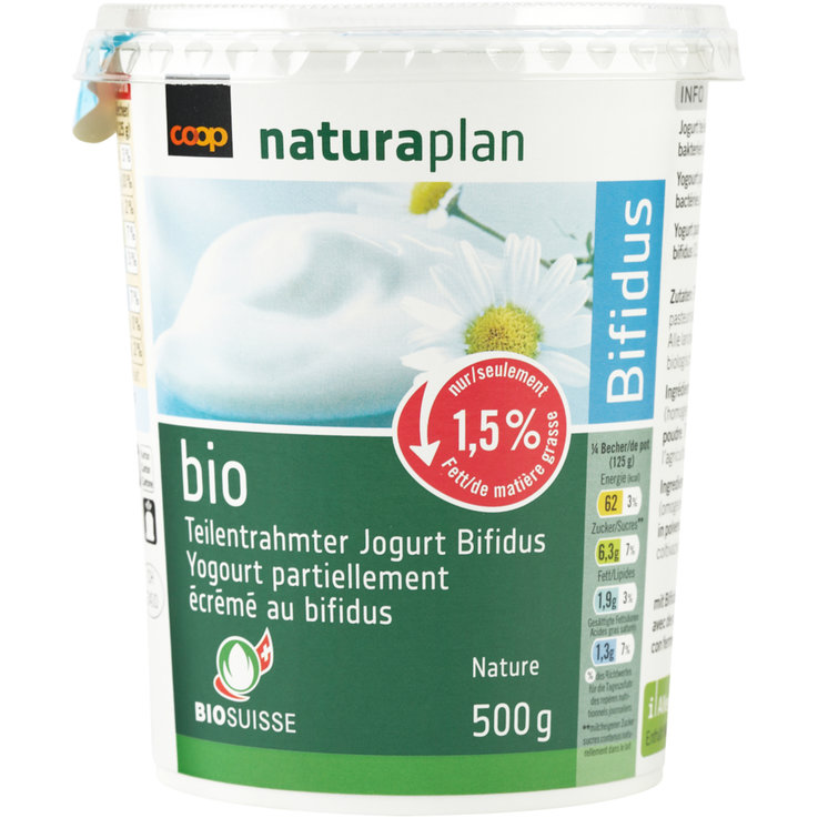 Jogurt Nature - Naturaplan Bio Bifidus Jogurt Nature
