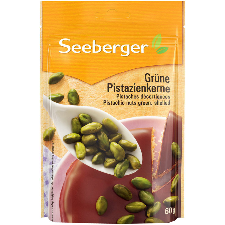 Nuts & Seeds - Seeberger Shelled Pistachio Nuts