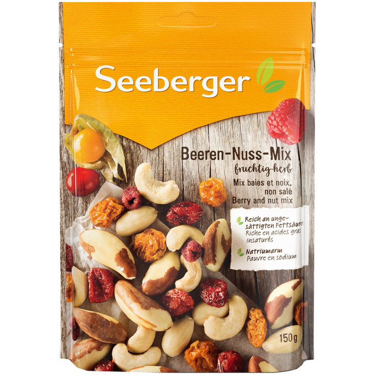 Mix di frutta & di noci - Seeberger berry-nut-mix
